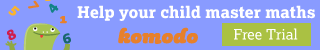 Komodo is the effective and rewarding way of helping your child learn maths at home.