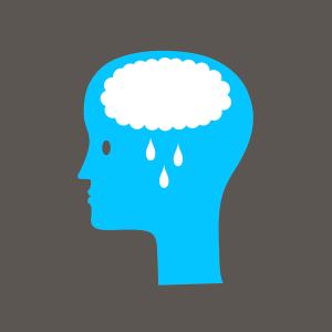 a worried brain