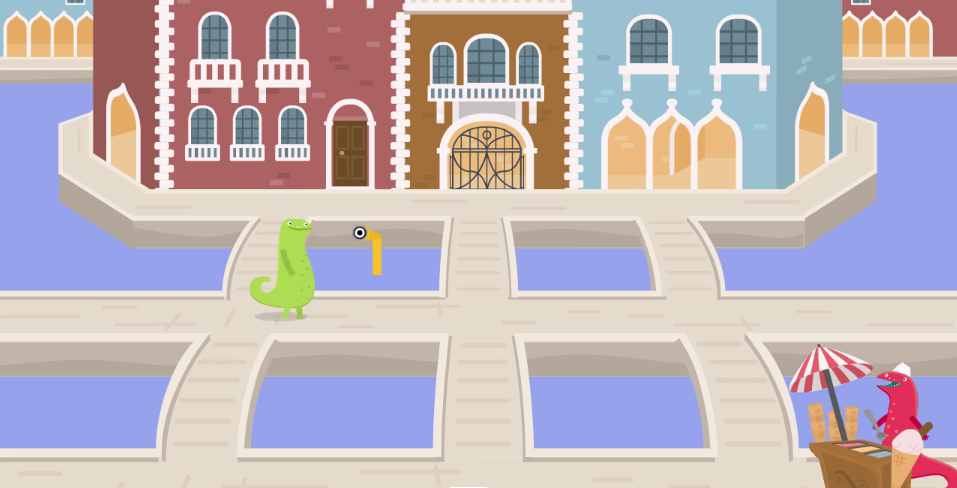 Komodo in Venice - a summer-themed family maths puzzle