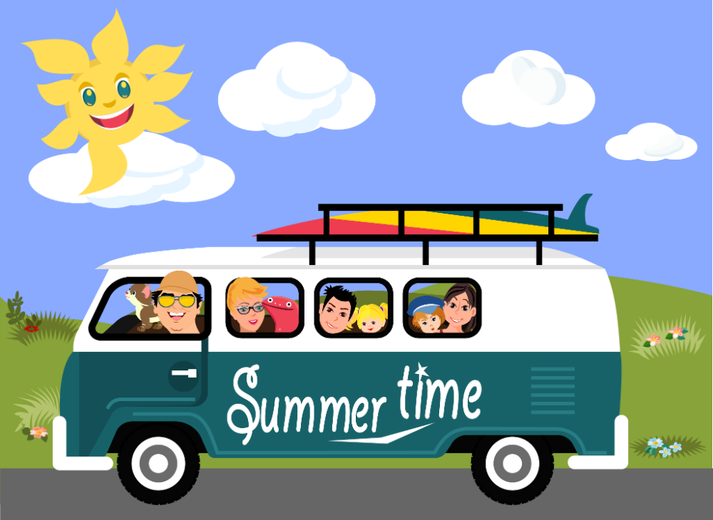 Are We Nearly There Yet? Family Maths Games for Summer Trips