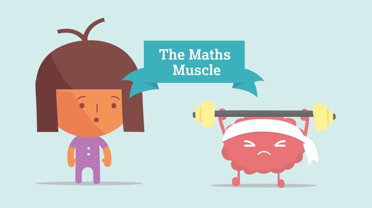 The maths muscle - practice is the key to mastering maths
