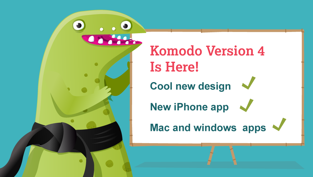 Komodo version 4 is released - here's how to update