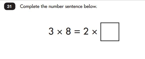 Key Stage 1 SATs Maths Test Reasoning 4
