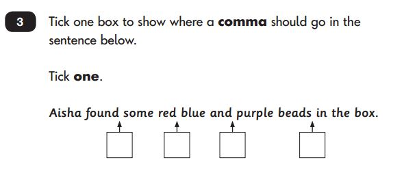 Key Stage 1 Tests Grammar & Punctuation