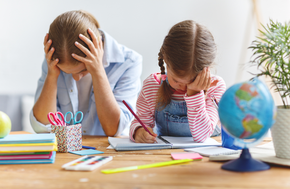 Top tips to de-stress teaching your children at home