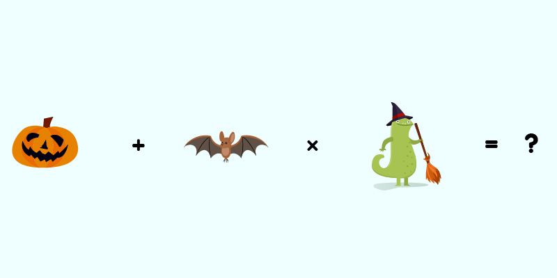 Get the answer to our tricky Halloween math puzzle!