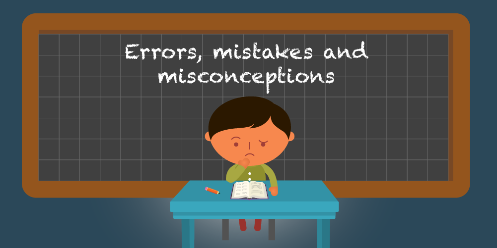 Common maths mistakes and misconceptions (and how to help)