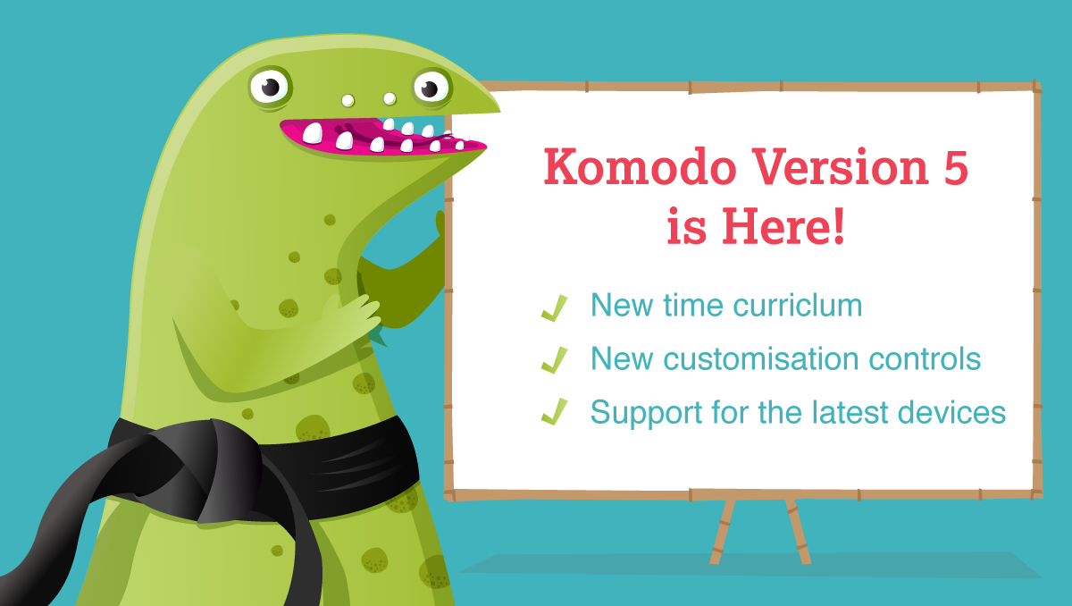 Komodo version 5 is live!